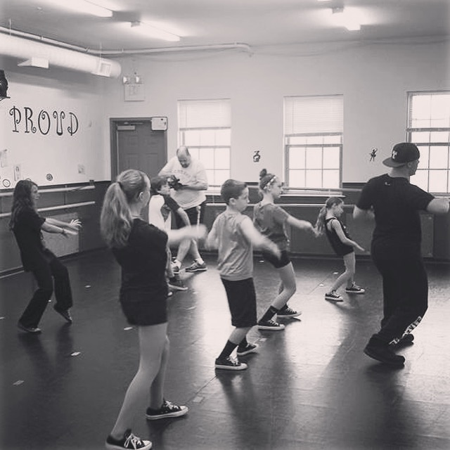Tony Azzaro of Freestyle Dance Academy at KMC Dance.