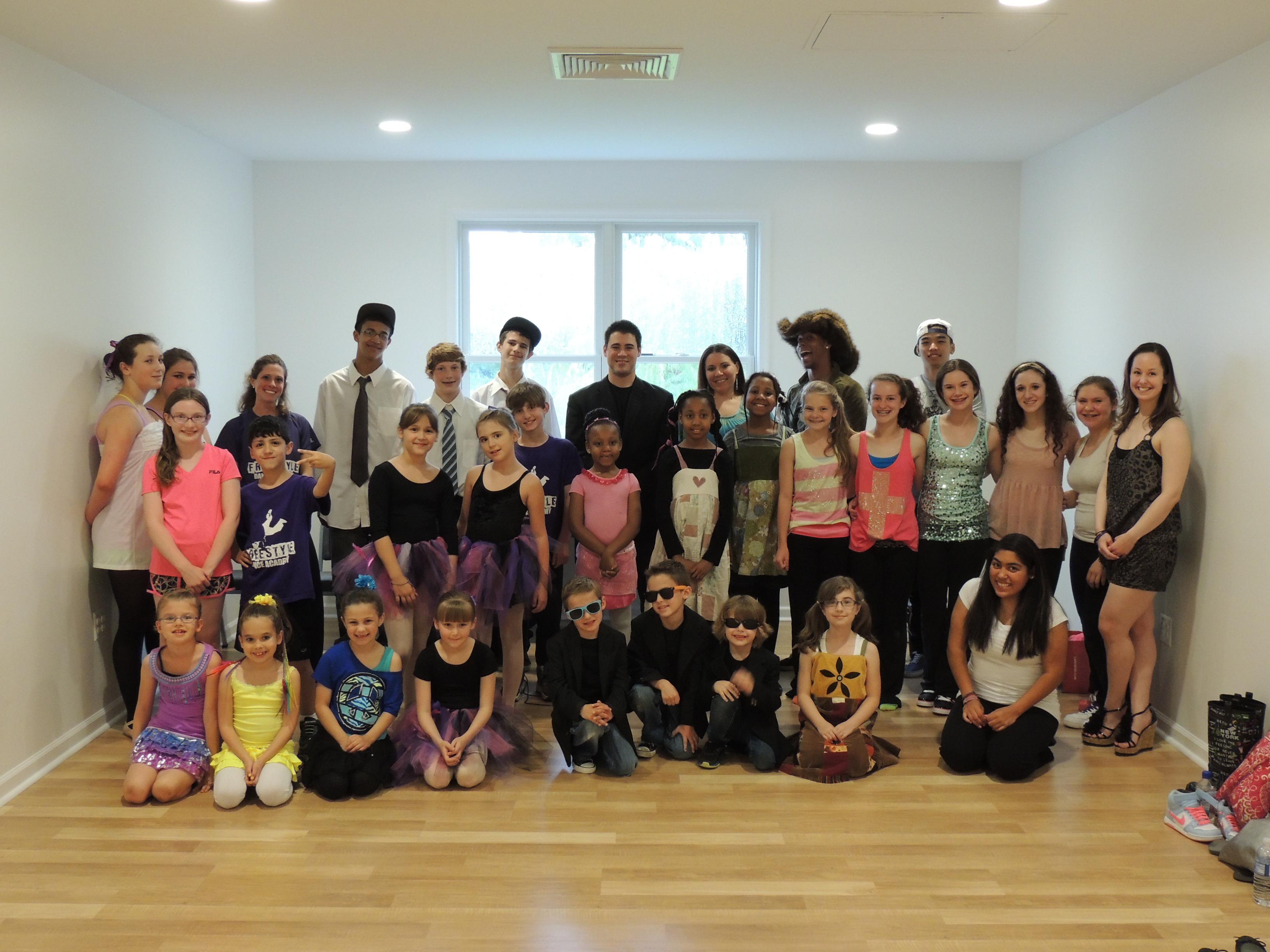 Dancer showcase