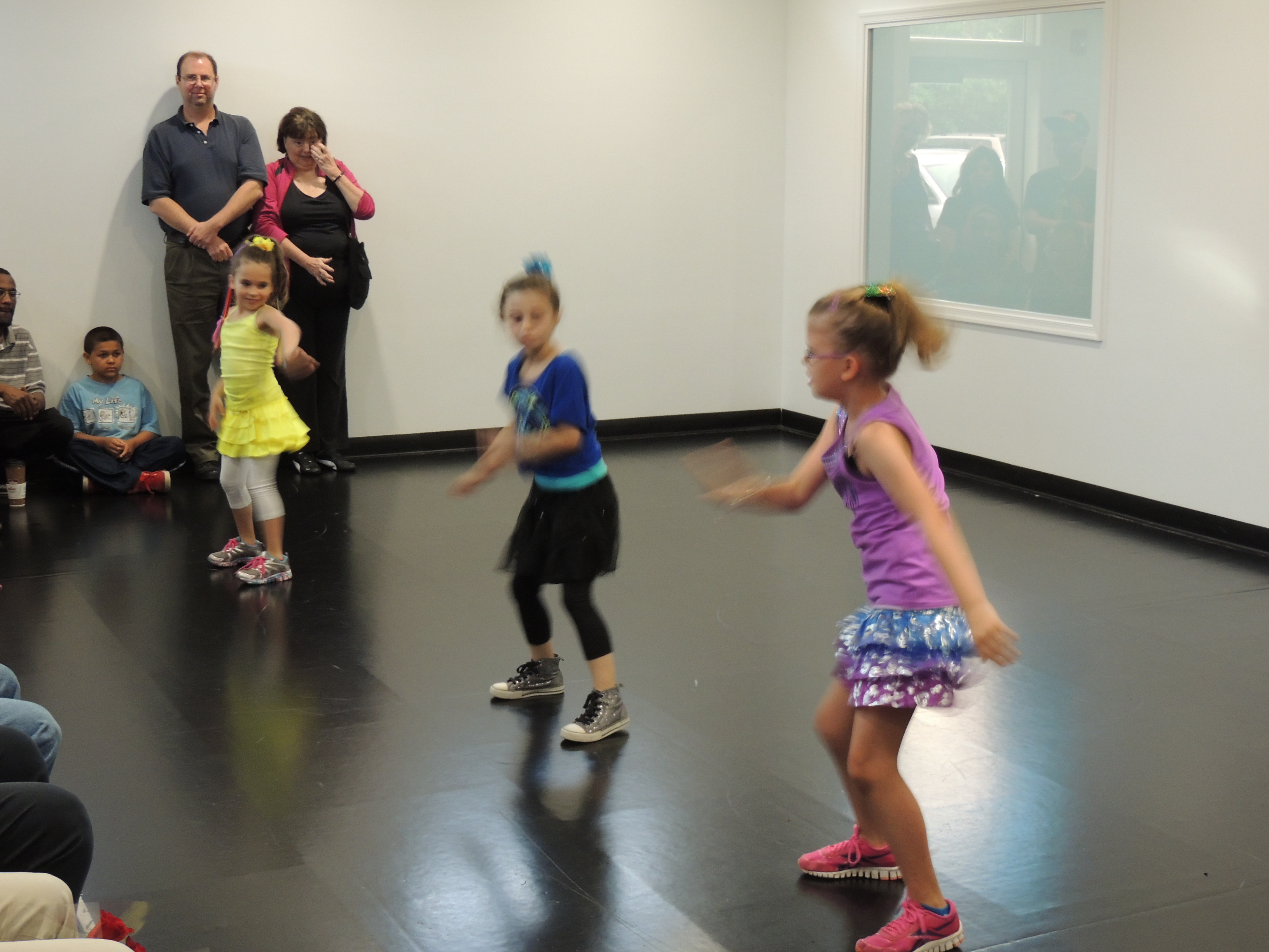 Girls Hip-Hop at Freestyle Dance Academy.