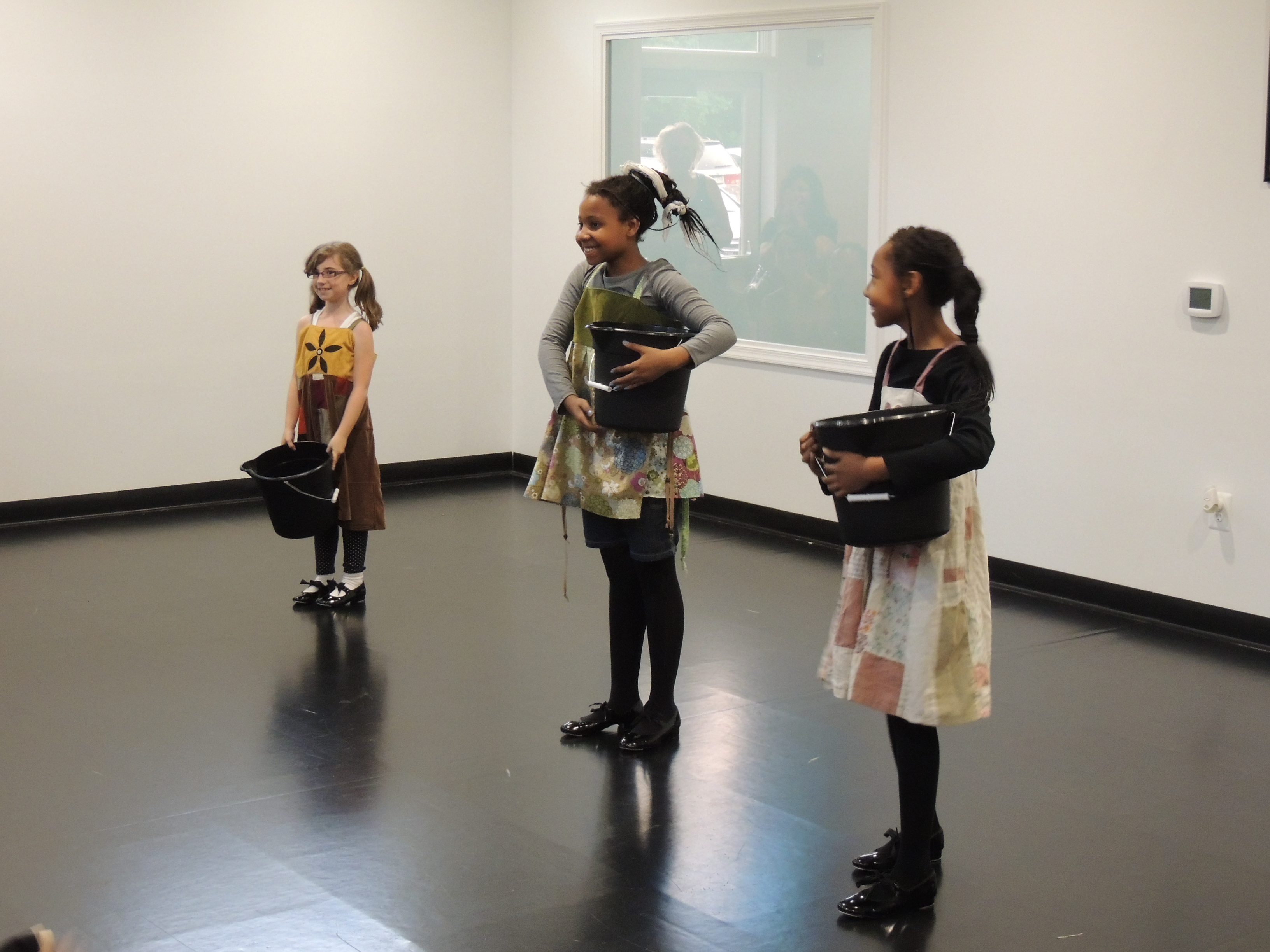 """Beginner Tap Class performs """"Hard Knock Life"""" at Freestyle Dance Academy"""