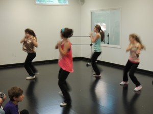 Ms. Ali's class dancing to Beyonce. Work ladies!!!