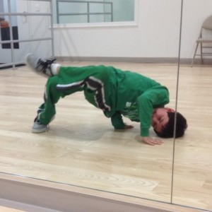 Brandon Breakdancing at Freestyle Dance Academy