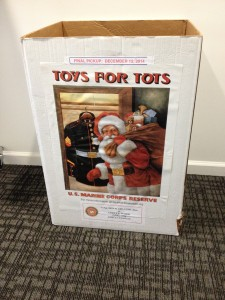 Freestyle Dance Academy 2014 Toys for Tots Bin