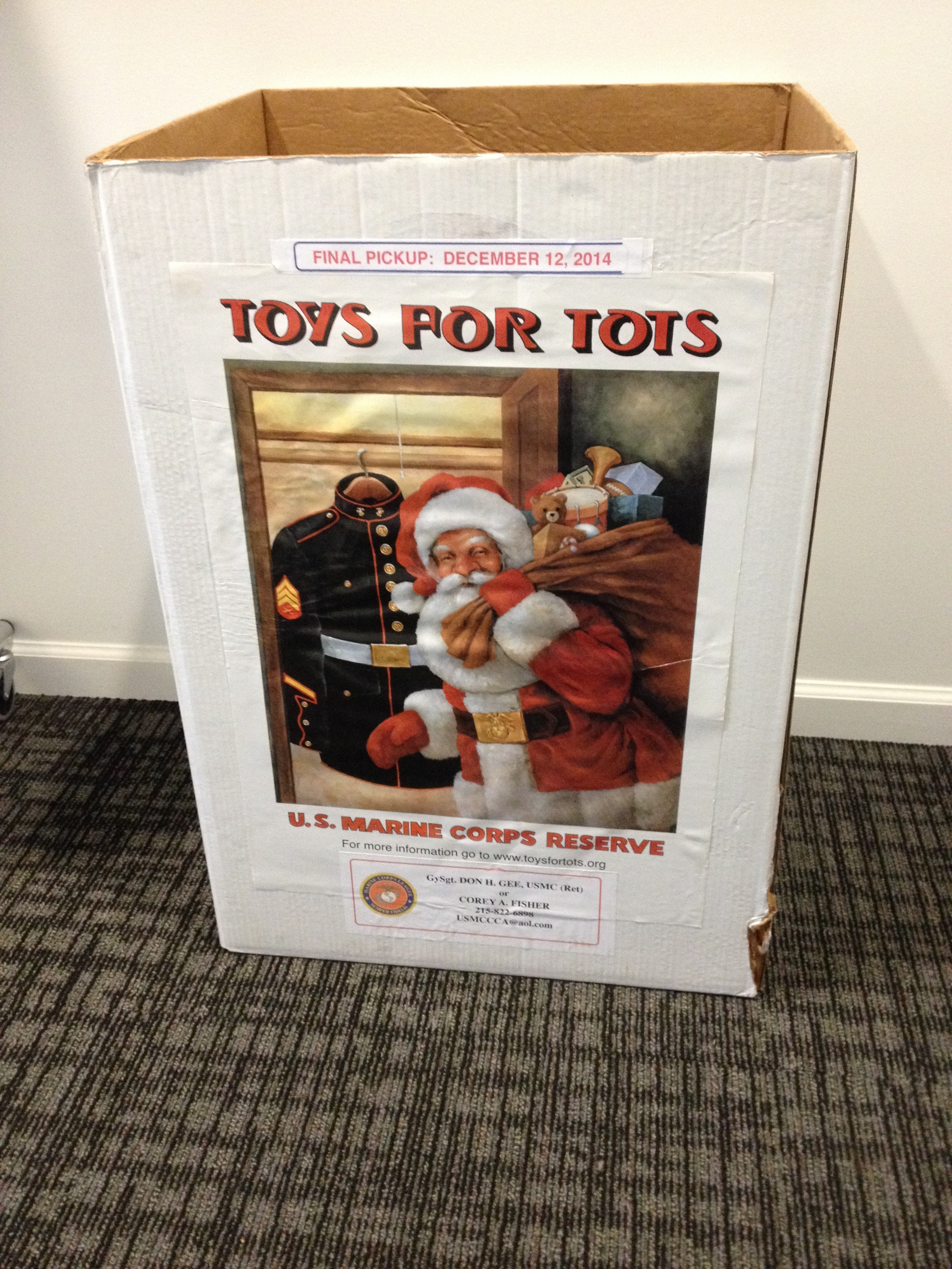 Toys For Tots Pickup : Toys for tots is back at freestyle dance academy