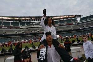 Freestyle Dance Academy at Lincoln Financial Field for the Temple Football Halftime Performance.