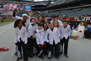Freestyle Dance Academy Dancers at Lincoln Financial Field