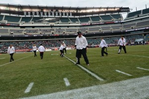 Freestyle Dance Academy dancers at Lincoln Financial Field dancing at Temple football halftime