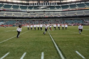 Freestyle Dance Academy performing to Poison at Lincoln Financial Field during the Temple football halftime performance.