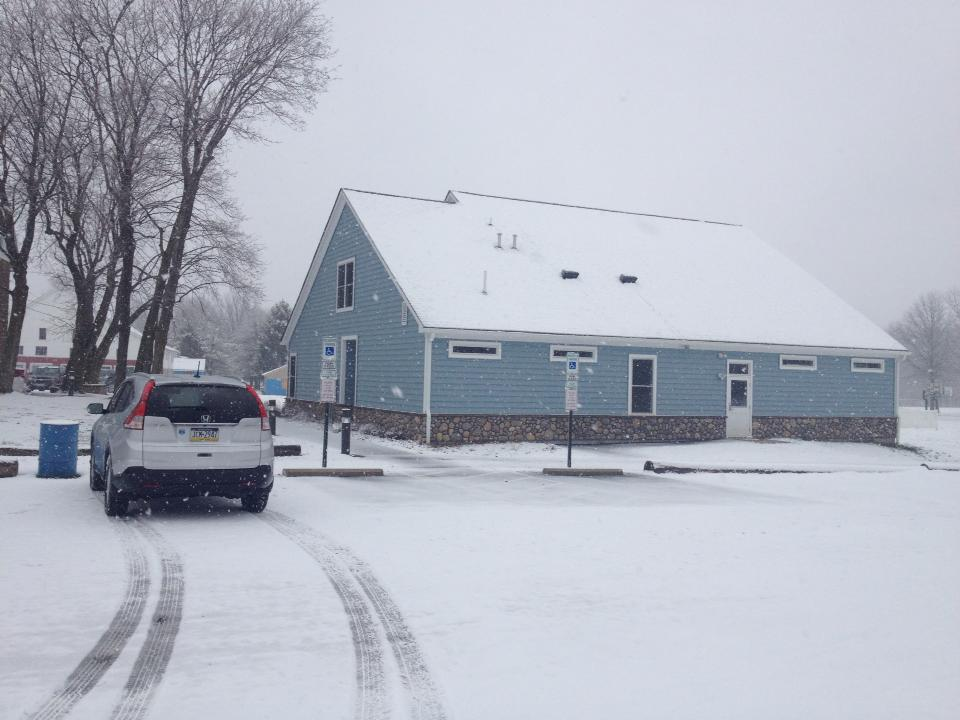 Dance studio in winter. Freestyle Dance Academy serves Warrington, Chalfont & Doylestown, PA.
