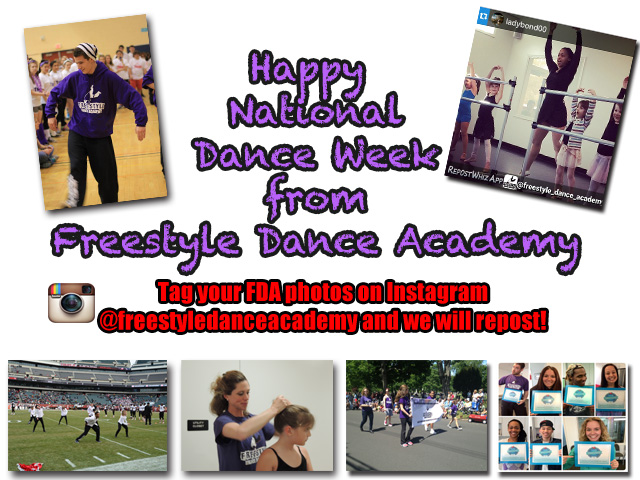 National Dance Week at Freestyle Dance Academy 2015 - Dance Classes for kids & adults in Warrington, Chalfont & Doylestown, PA.