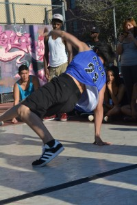Eugene breakdancing in Philadelphia - Freestyle Dance Academy.