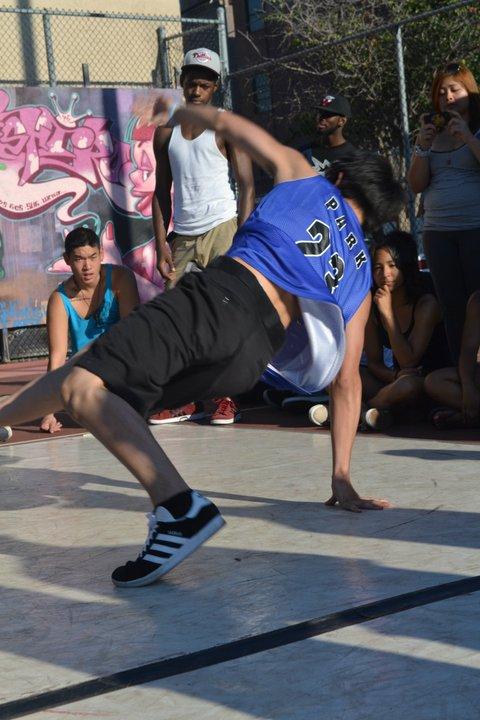 Eugene breakdancing in Philadelphia - Freestyle Dance Academy.