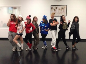 Freestyle Dance Academy Girls Hip-Hop Halloween - Dance Classes for Warrington, Chalfont & Doylestown, PA.