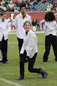 Freestyle Dance Academy performs for Temple Football at Lincoln Financial Field