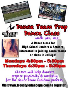 dance team dance class - Freestyle Dance Academy