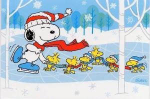 peanuts-skating
