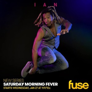 Ian Eagle Ashanti, Dancin On Air, Saturday Morning Fever, FUSE, Freestyle Dance Academy.