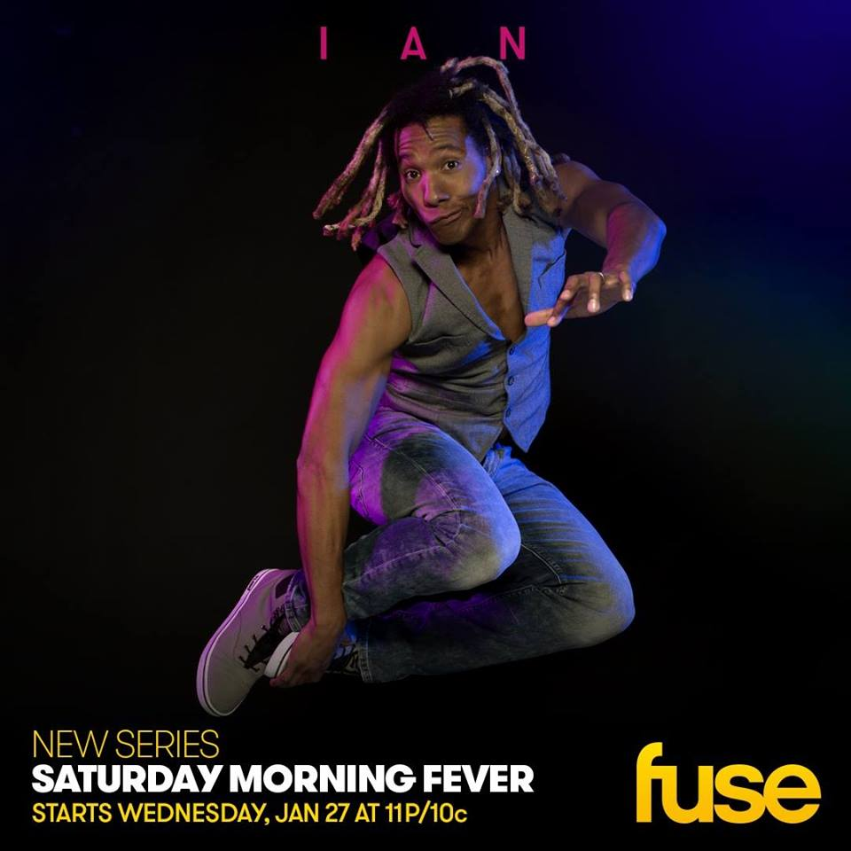 Ian Eagle Ashanti, Dancin On Air, Saturday Morning Fever, FUSE, Freestyle Dance Academy.