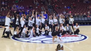 Freestyle Dance Academy, dance, dancer, Wells Fargo Center, Philadelphia 76ers, Michael Jackson,