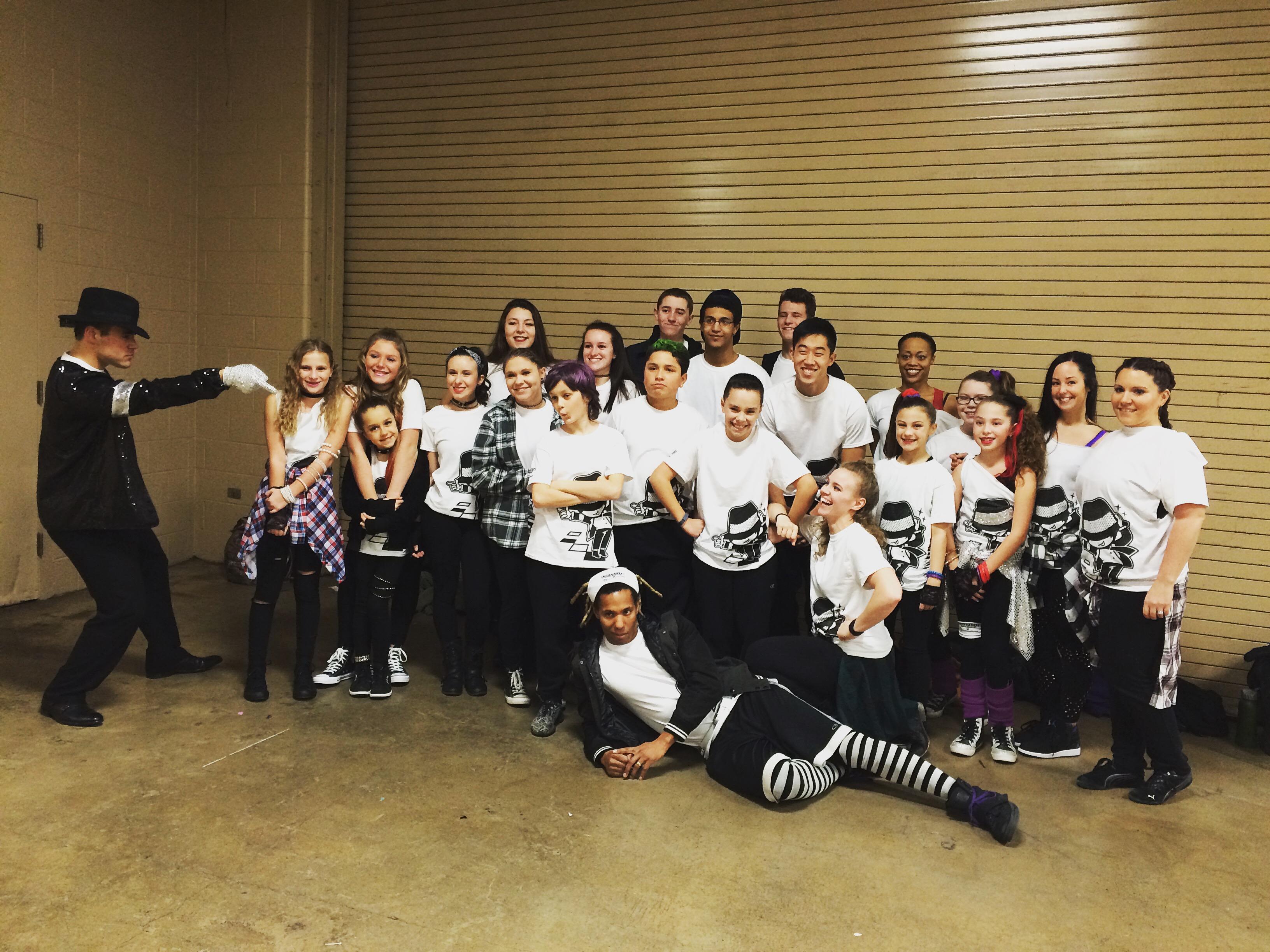 Freestyle Dance Academy Dance Group, Philadelphia 76ers, Wells Fargo Center, dance studio, dance, dance class, dance lessons, warrington, chalfont, doylestown, lansdale