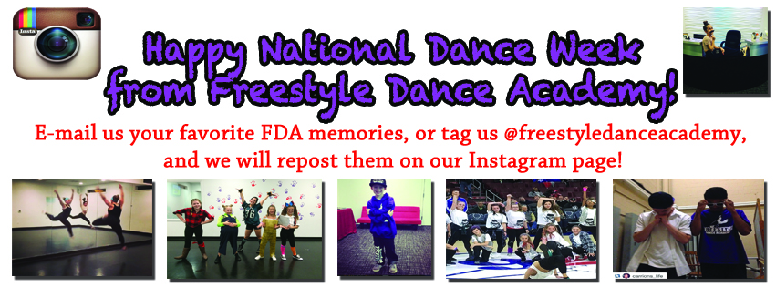 National Dance Week, Freestyle Dance Academy, dance, dancer