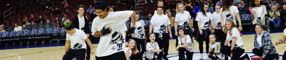 Freestyle Dance Academy, dance, performance, Philadelphia, Wells Fargo Center, 76ers, dance class, dance studio, Warrington, Chalfont, Doylestown, dance, dancer, hip-hop, jazz, Michael Jackson