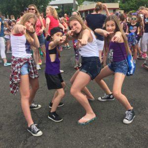 Freestyle Dance Academy, parade, doylestown