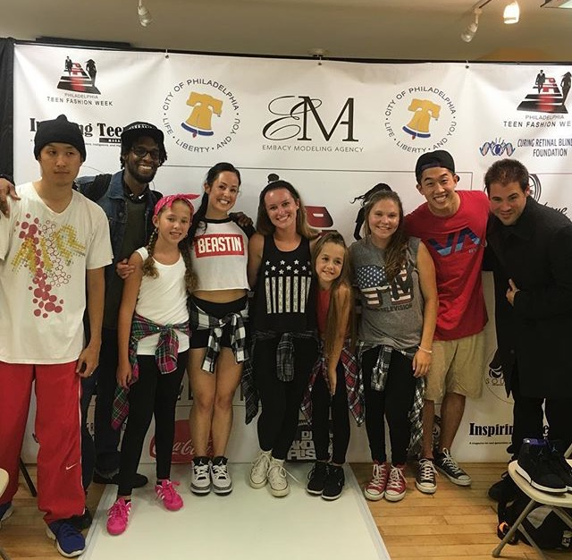 Freestyle dance academy performs at philly teen fashion Fashion design schools in philadelphia