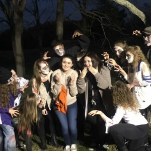 Central Bucks High School, volunteer, zombie, Freestyle Dance Academy, community, Pumpkinfest 2016, dance