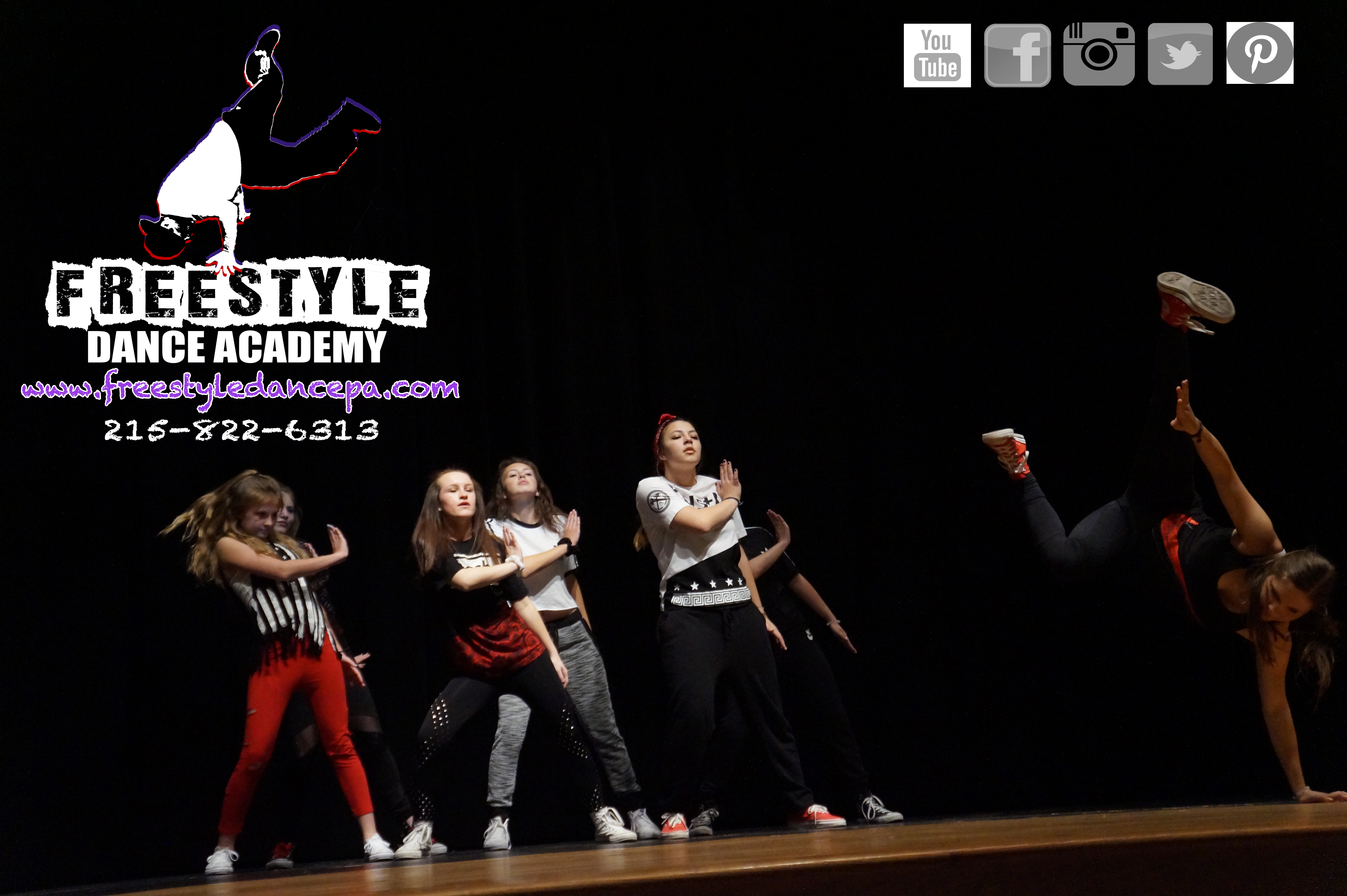 dance, dance class, dance studio, Freestyle Dance Academy, Warrington, Chalfont, Doylestown, Lansdale, jazz, hip-hop, ballet, tap, best of Bucks 2016,
